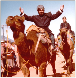 Bobby on Camel