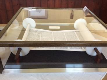 Torah scroll replica